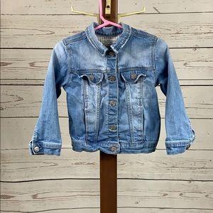 Zara BabyGirl Snap Button Denim Jacket